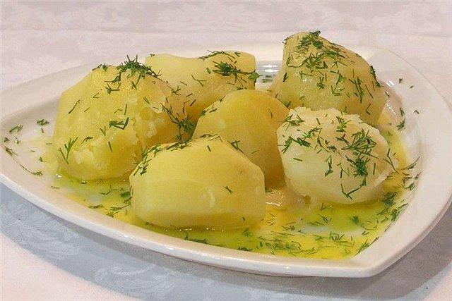 Сварить картофель рецепт