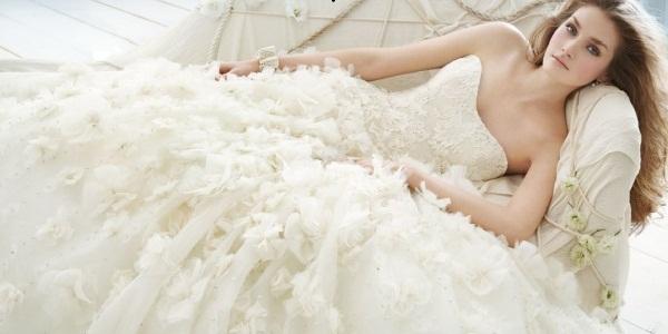 Самые пышные свадебные платья на